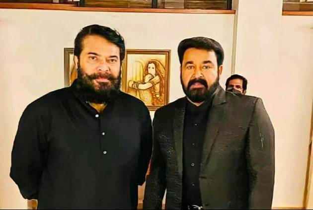 mohanlal with mammootty