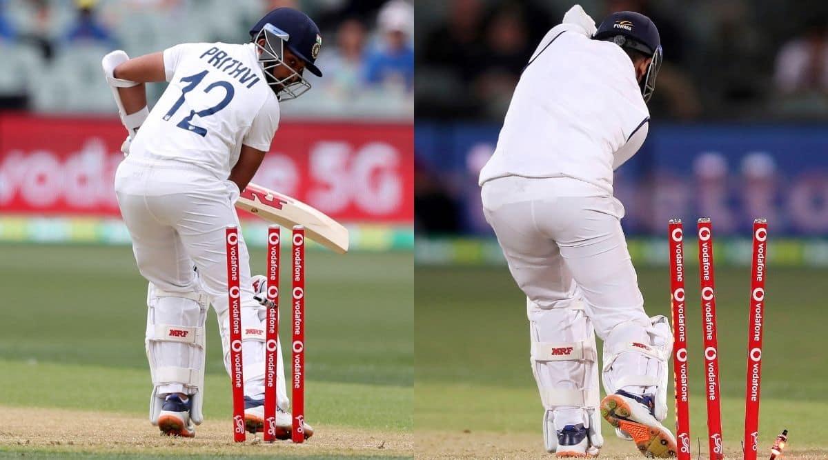 Prithvi Shaw, India vs AUstralia