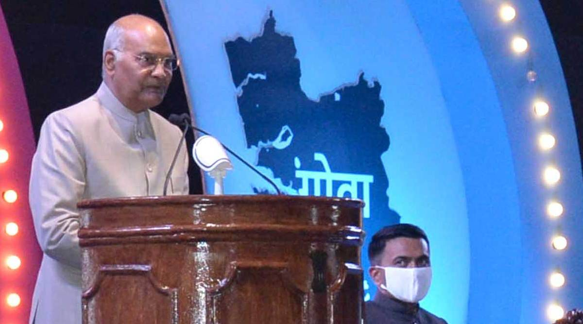 Ram Nath Kovind, goa liberation day, 60th goa liberation day, Pramod Sawant, goa news