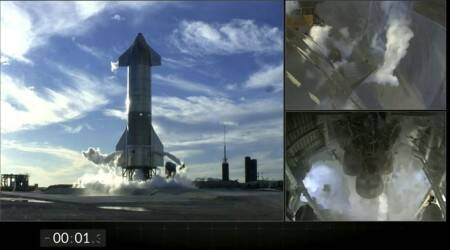 SpaceX's Starship, SpaceX, Elon Musk, Starship Test Flights, Super Heavy Boosters, Satellites, science, Indian Express News