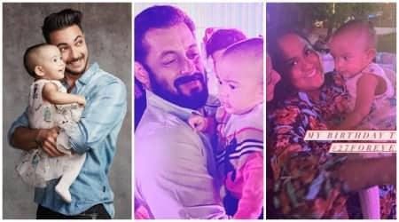 Salman Khan and Ayat birthday celebration