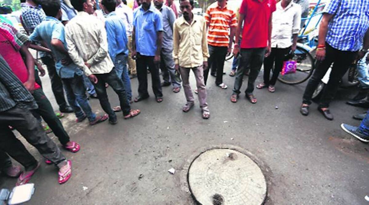 Sanitation workers withdraw strike, Sanitation workers resume work, Ahmedabad Sanitation workers, Ahmedabad news, Gujarat news, Indian express news