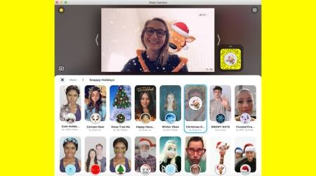 Snap Camera, Snapchat camera AR filter, Snapchat new filter, Snap camera new filters, New Snap filters, Snapchat, Christmas 2020, Christmas filters, Zoom, Google Meet, Hangouts, Skype