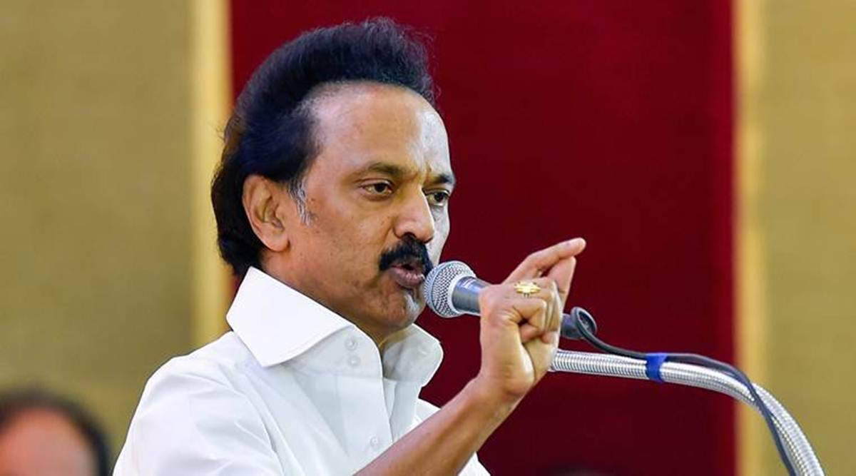 amit shah, mk stalin, DMK leader M K Stalin, tamil nadu assembly elections 2021, aiadmk, bjp aiadmk alliance, tamil nadu news, chennai news, indian express