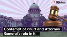 Explained: Contempt of Court and Attorney General's Role in it