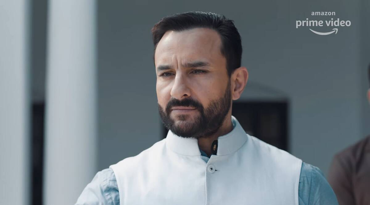Tandav teaser: Saif leads the multi-player game of power and politics - The Indian Express