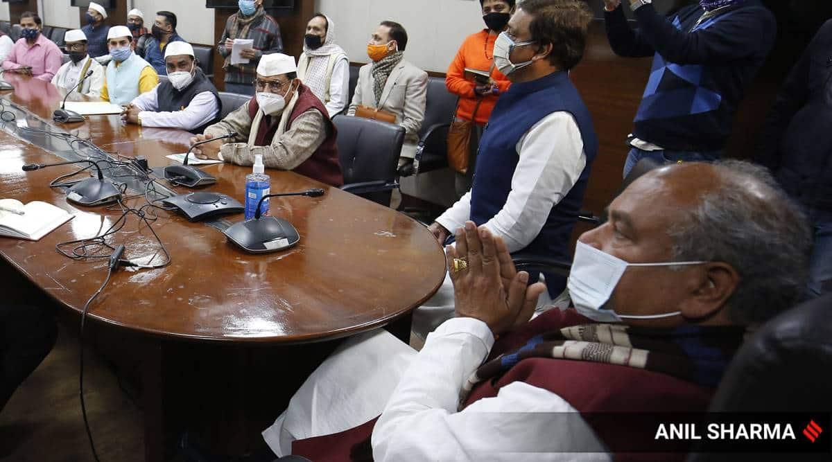 Dushyant Chautala, farmers protests, farmers, Haryana, JJP, Farm Laws, BJP-JJP, farmer govt mediator, Indian Express