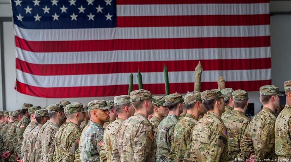 US troops, US military