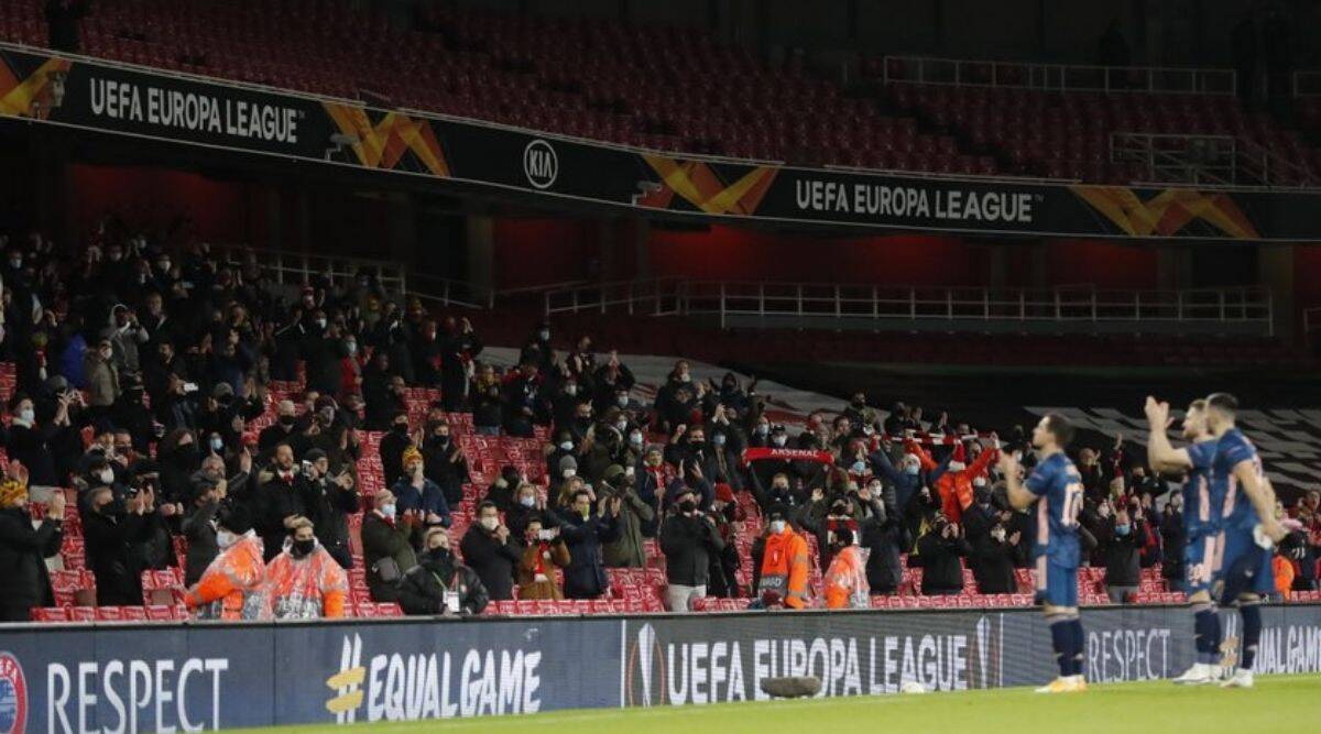 Shut out for 9 months, fans back at top-level English football