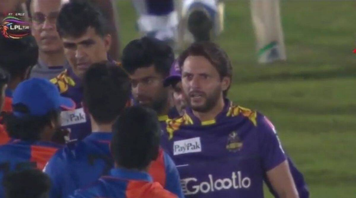 'Kya Hua': Enraged Afridi lashes out at Afghan pacer Naveen for ugly spat with Mohammad Amir