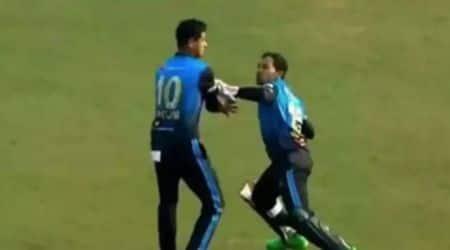 Mushfiqur Rahim fight