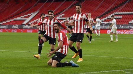 https://apnews.com/article/unai-nunez-jon-morcillo-jorge-pulido-bilbao-kenan-kodro-60afe7621322a2a2c8f82d277b31d345 Click to copy RELATED TOPICS Unai Nunez Jon Morcillo Jorge Pulido Sports - Europe Bilbao Kenan Kodro La Liga Soccer Spain Athletic Bilbao Huesca