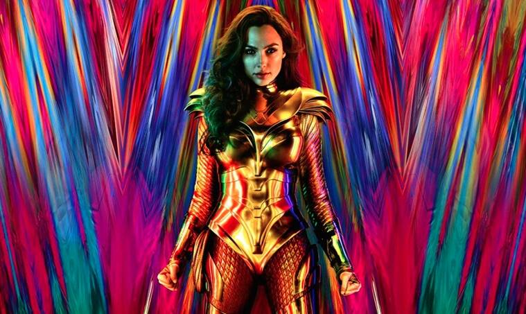Gal Gadot, Wonder Woman 1984, golden eagle armour