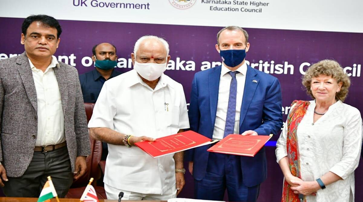 Yediyurappa, British Council, Ashwathnarayan