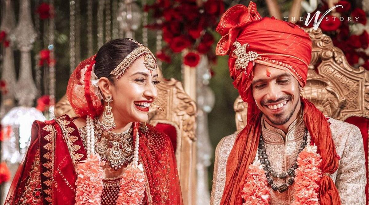 Yuzvendra Chahal ties the knot with Dhanashree Verma, see photos | Entertainment News,The Indian Express