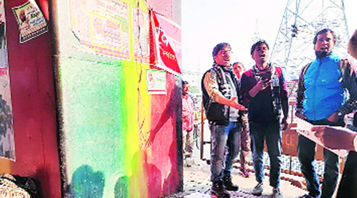farm protests, farm laws, farm laws protest, punjab farmers, farm protest at delhi border, indian express news