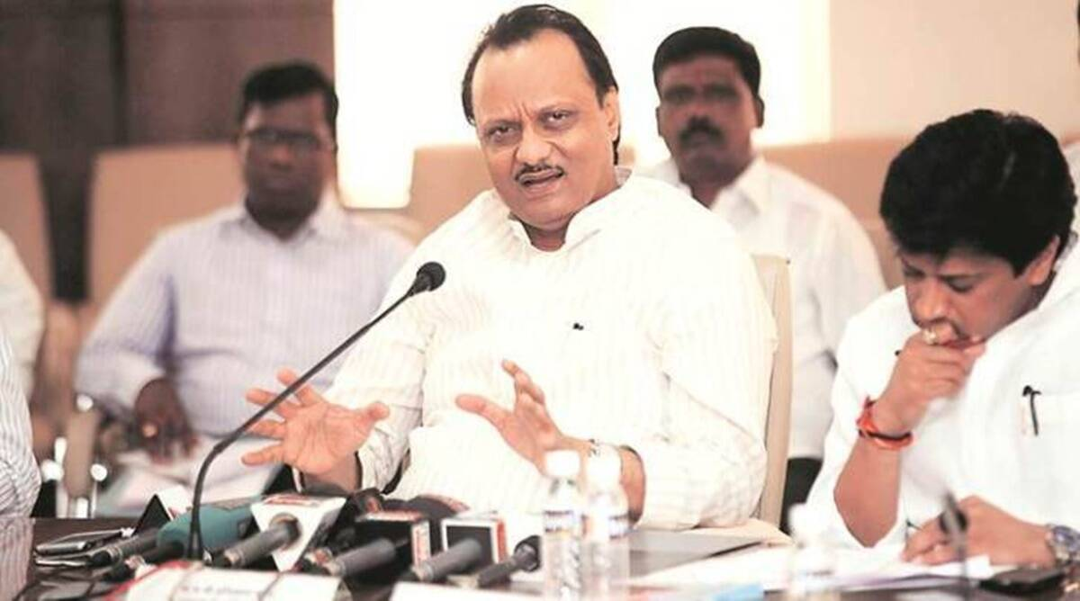 Ajit Pawar, Pune elections, NCP alliance, Maharashtra, BJP, Shiv sena, pre-poll alliance, congress, mva, Indian Express