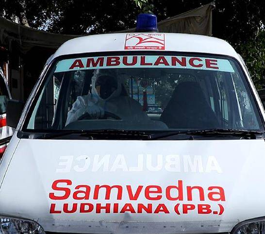 Ludhiana's Covid burden made lighter by an ambulance service