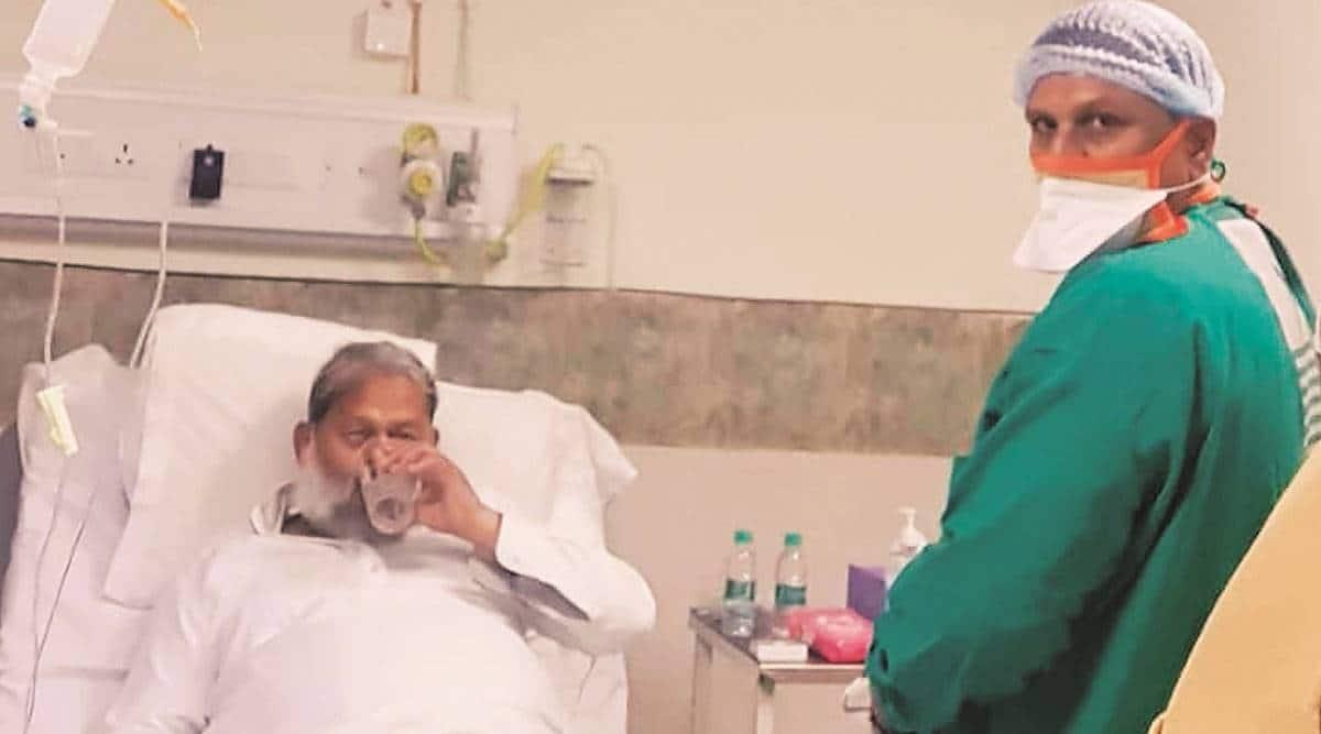 Haryana minister Anil Vij shifted to Medanta, kin say for 'better treatment'