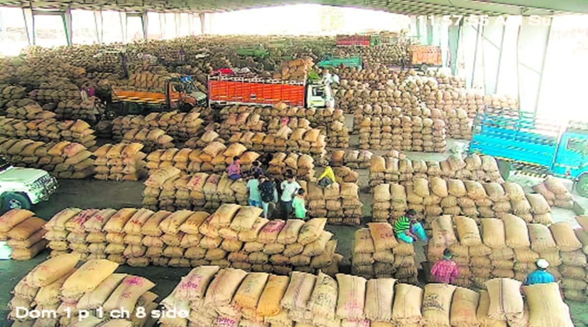 farm bills, farmer protest, bharat bandh bharat bandh call, gujarat apmcs, gujarat apmcs bharat bandh call, indian express news