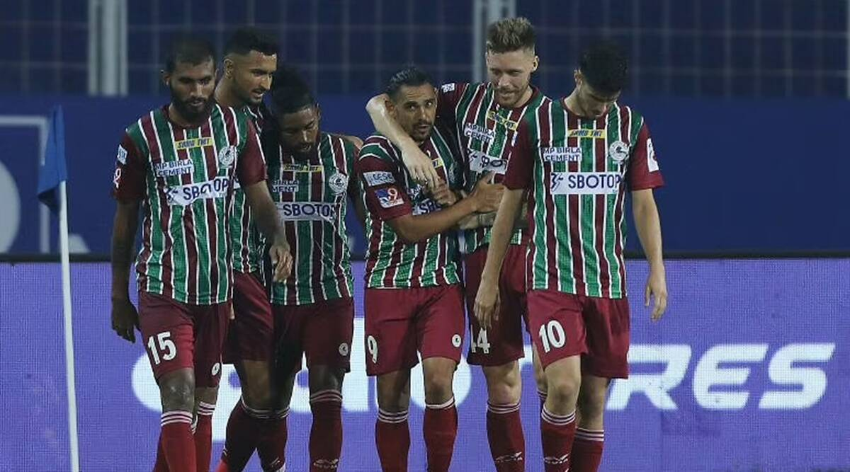 ATK Mohun Bagan lay down marker for ISL title challenge with resolute start    Sports News,The Indian Express