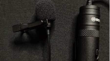 Dolby Go, best lavalier microphone, Boya BYM1 lav mic, Boya BYM1 specs, Rode Go lav mic, Rode Lavalier Go, AKG Lyra specs, best lavalier mics, best sound recording apps, best phone mics,