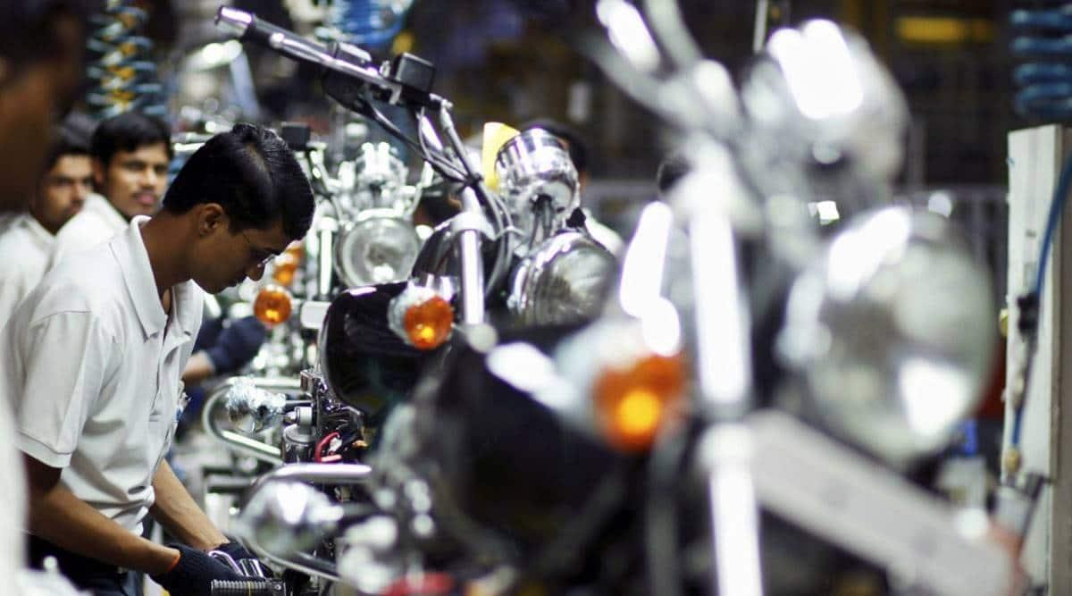 Bajaj Auto manufacturing facility, Chakan industrial area, Bajaj Auto Limited, Pune news, Maharashtra news, Indian express news