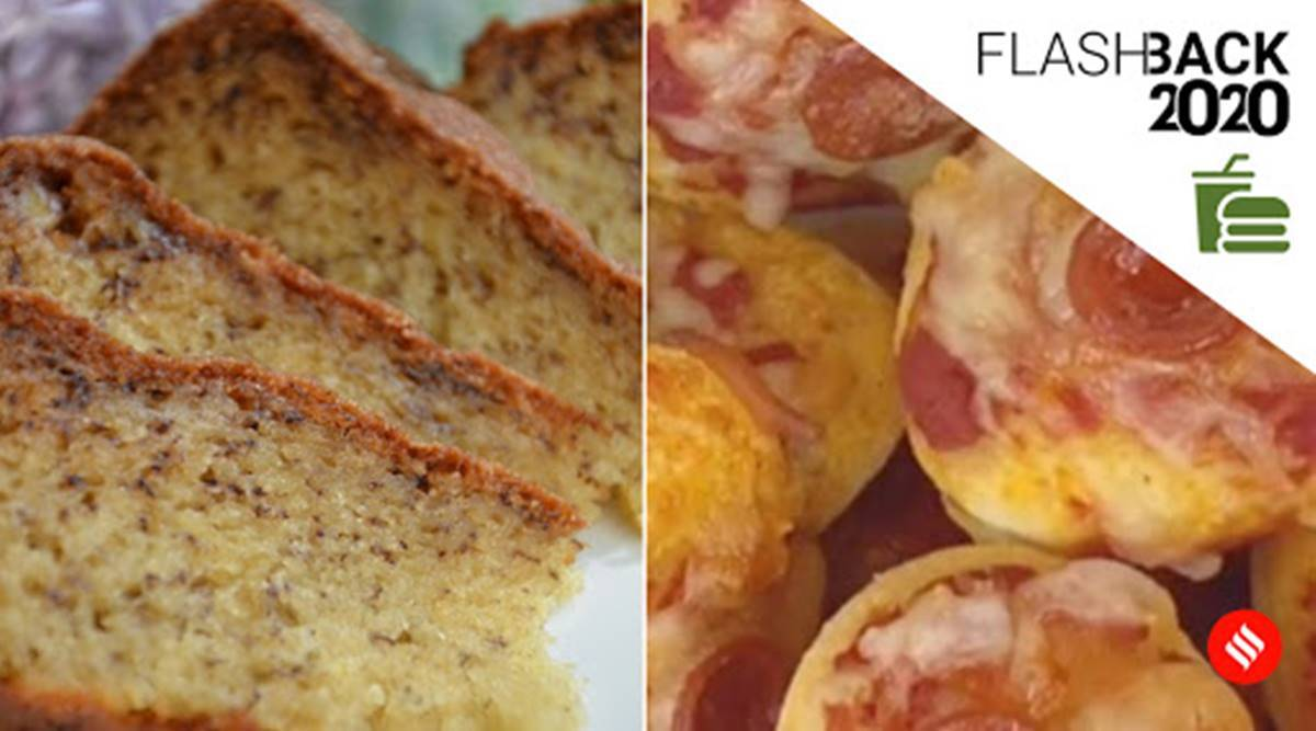 banana bread, pizza cereal, food trends 2020