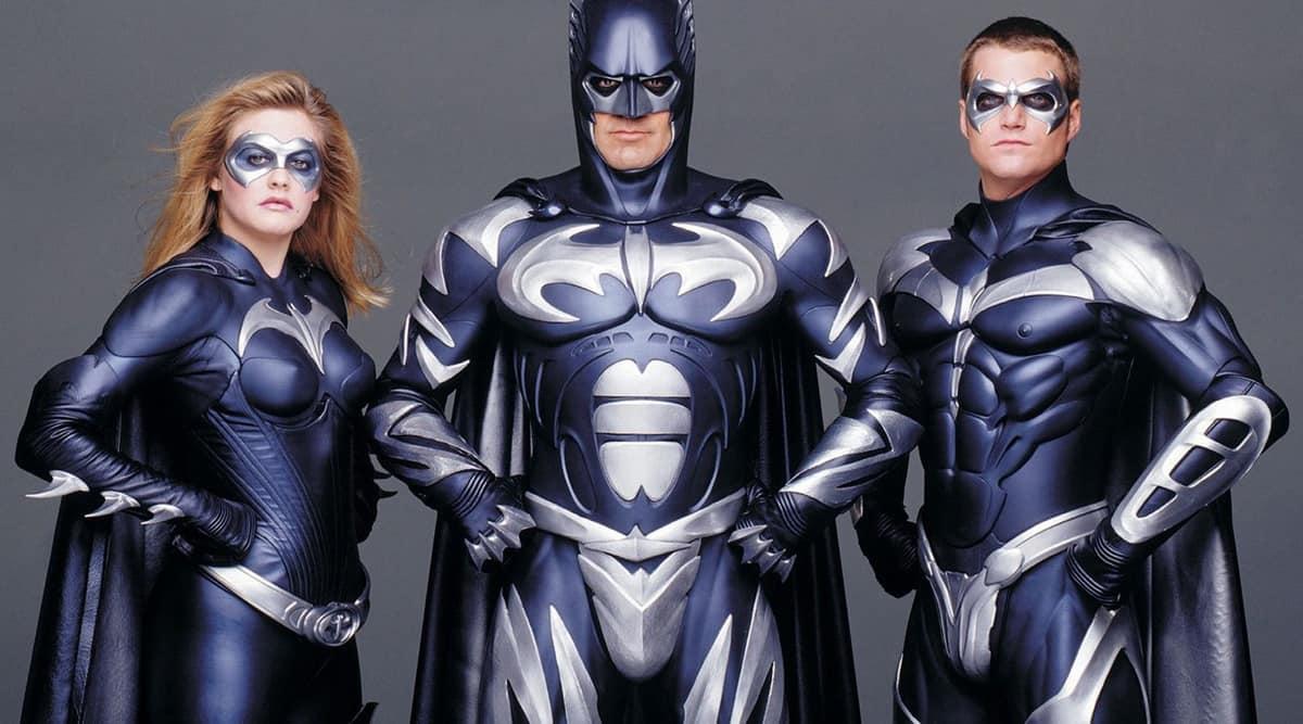George Clooney , batman and robin