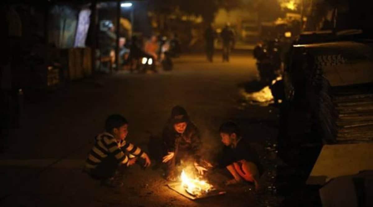 Mumbai weather, mumba temperature, mumbai night temperature, mumbai winter temperature, indian express news