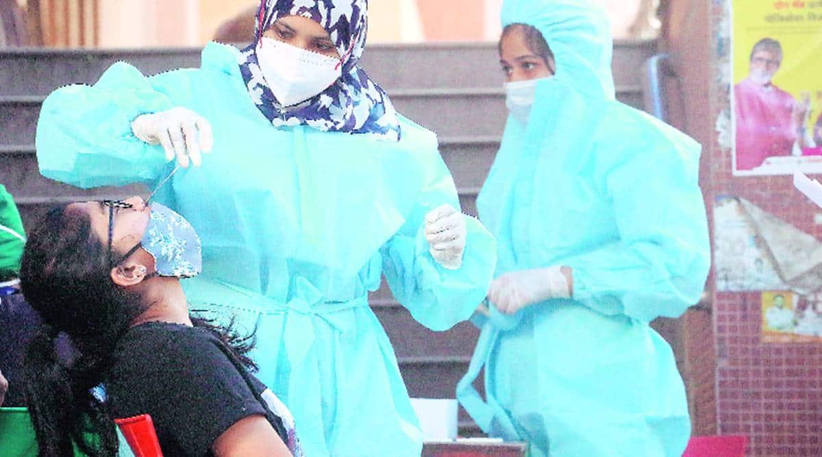 Surat Covid vaccination drive, Surat coronavirus cases, Surat news, Gujarat news, Indian express news