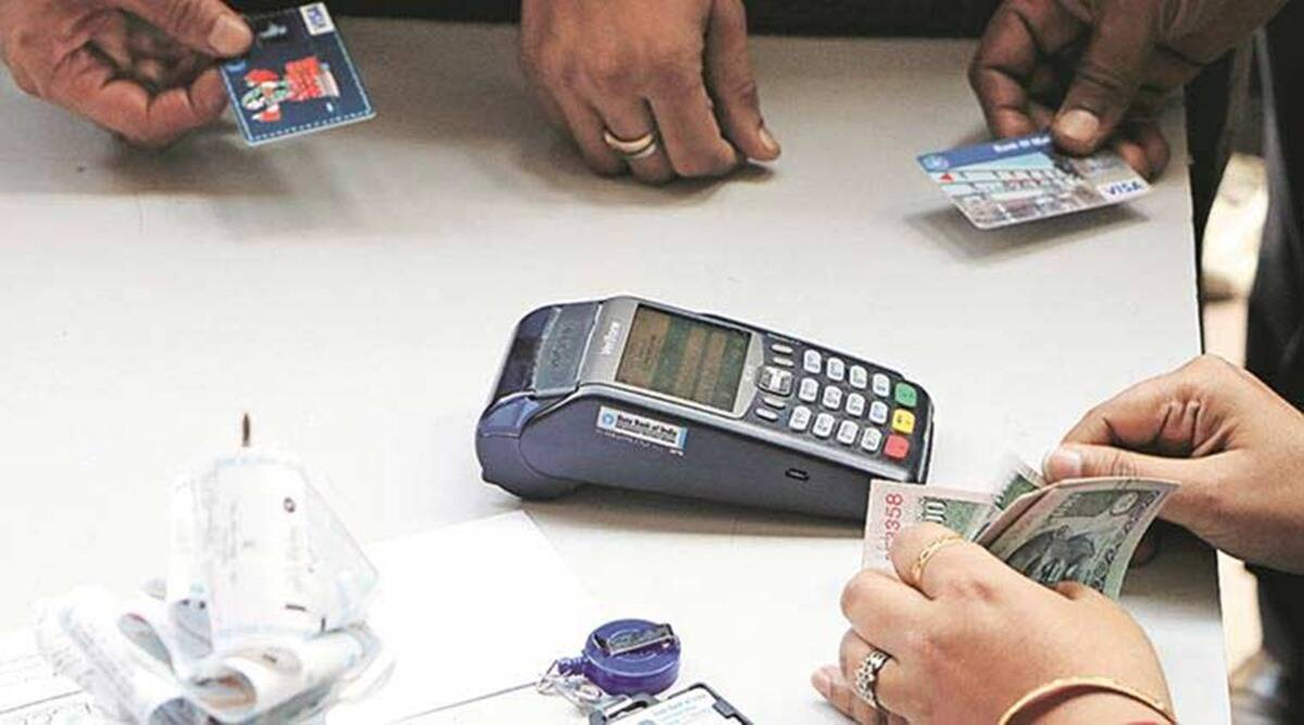 Digital India, Digital transactions, digital transactions in UP, Up tops digital transactions, indian express news