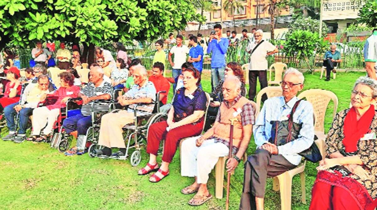 Mumbai covid-19, Mumbai senior citizens covid, Mumbai Elderly people covid, Mumbai news, Indian express news