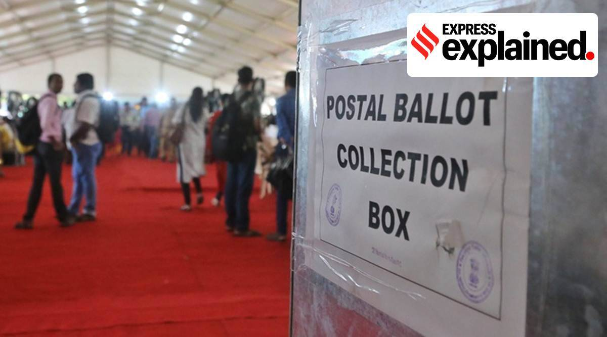 postal ballots, nris, postal ballots for nris, election commission, india election rules, parliament news, indian express, express expained