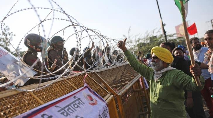 farmers protest, farmers protest violence, farm bill 2020, punjab farmers, farmer talks, indian express