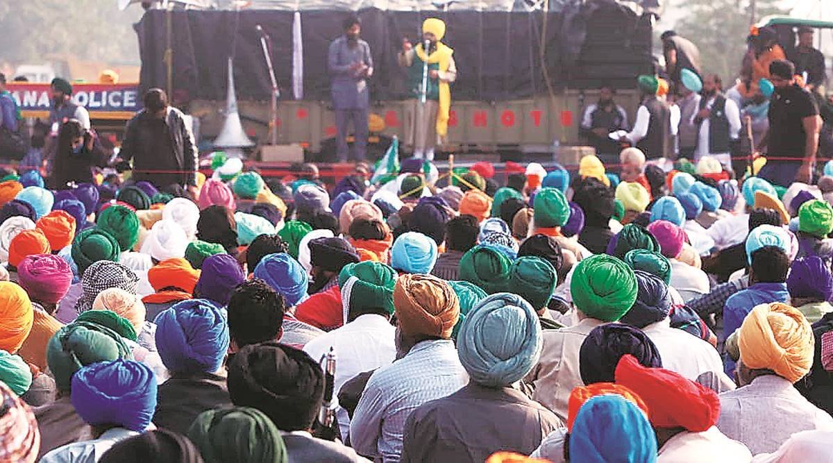 Farmers protest, UP farmers, Farmers detained in Haryana, Delhi news, Indian express news