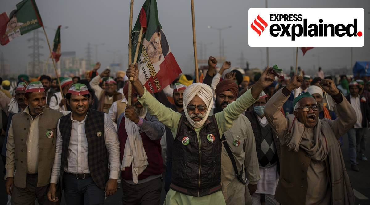 farmers protest, farmers protest delhi, punjab farmers protest, farmers protest news, farm laws protest, msp, apmc mandis, new farm laws, punjab farmers protest, indian express