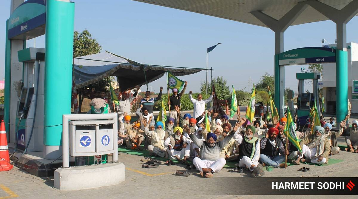 Farmers protest, Reliance Industries, Punjab