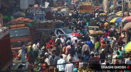 No space for Covid-19 rules as people flock to markets in Kolkata
