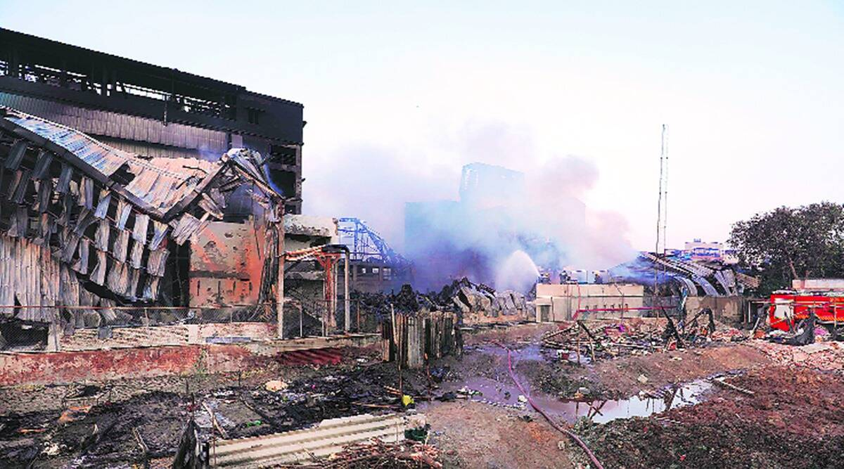 ahmedabad factories fire, Vatva GIDC fire, Vatva GIDC factory fire, ahmedabad news, indian express news