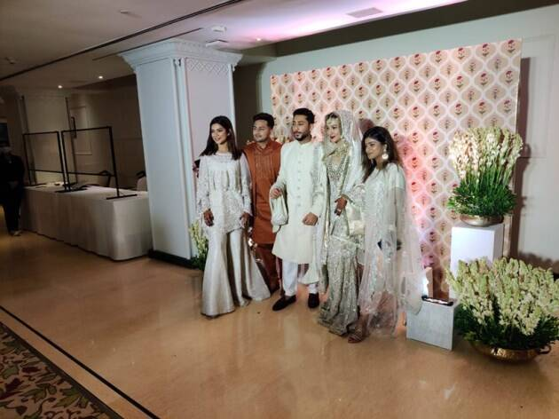 gauahar khan zaid darbar wedding day