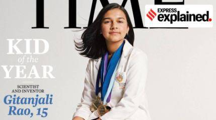 Meet Gitanjali Rao, Time's Kid of the Year
