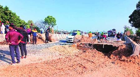 Haryana government barricades NH-9 again, removed by farmers