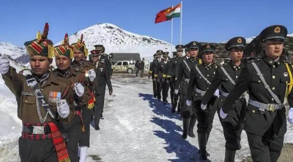 Indian and Chinese troops involved in another border clash in eastern Himalayas