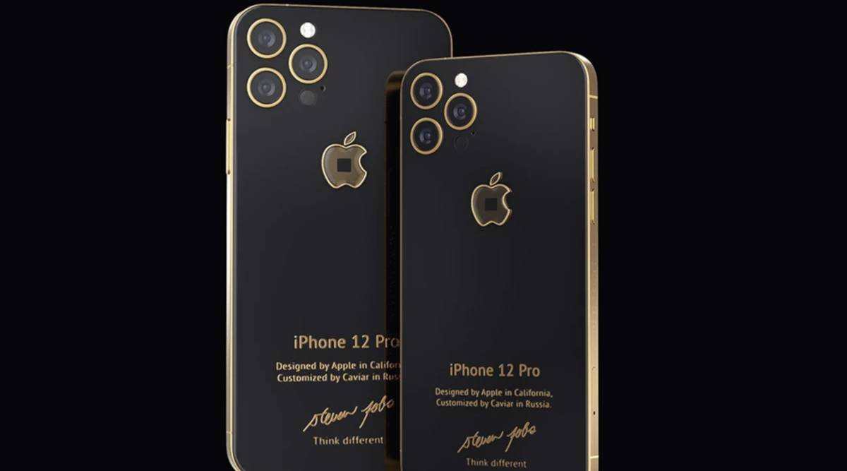 This iPhone 4-inspired custom iPhone 12 Pro will cost you $6490 - The Indian Express