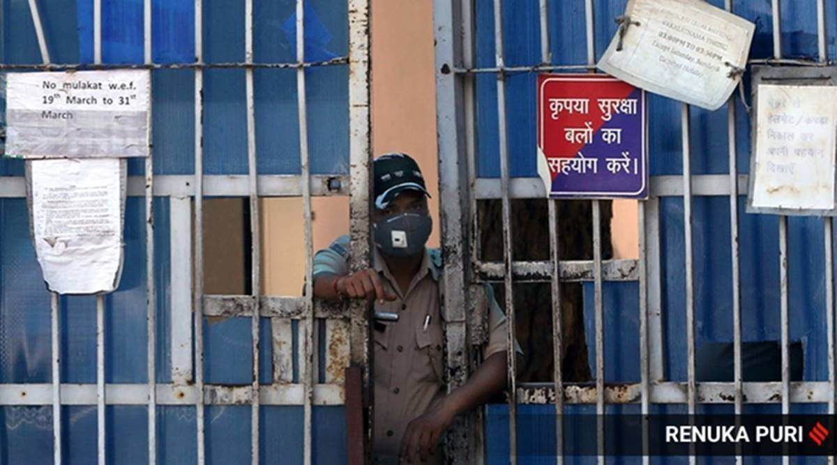 Deoria jail, Covid parole, UP convicts, UP coronavirus cases, UP police, Lucknow news, Indian express news