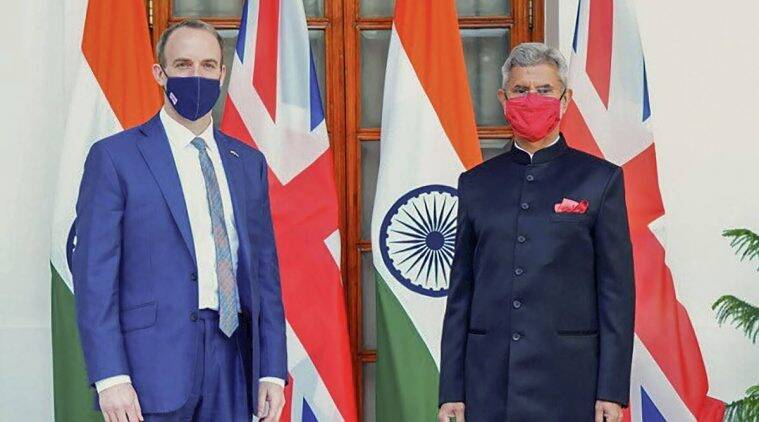 Jaishankar and British foreign secretary hold talks, discuss ways of expanding cooperation