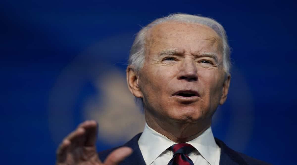 Joe biden, Donald Trump, Biden on trump impeachment, Trump impeachment push by democrats, Capitol Hill seige, US violence, Trump supporters, Nancy Pelosi on trump, world news, Indian express