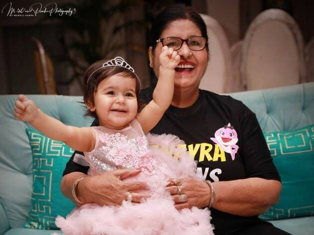 kapil sharma daughter's first birthday