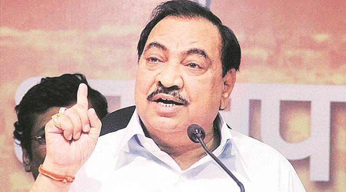 Eknath Khadse, eknath khadse ed probe, Enforcement Directorate, eknath khadse Bhosari land deal case, maharashtra news, indian express news